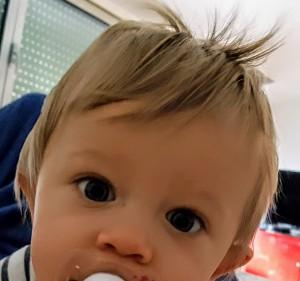 cheveux fin bébé
